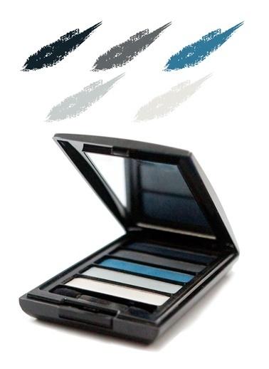 Tca Studio Make Up Eyeshadow Palette 3 Blue Mavi